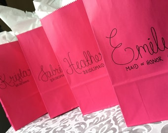 Personalized gift bags to order
