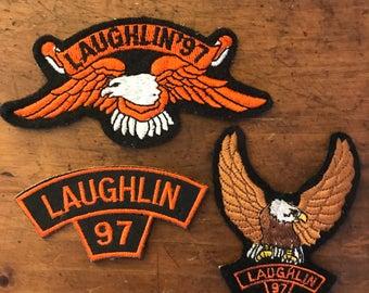 1997 Laughlin Biker Rally Patch Set