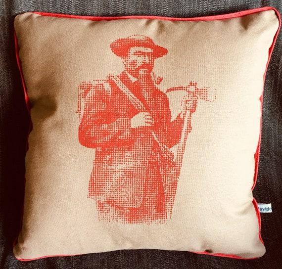 Red climber cushion