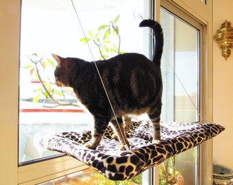 Cat window Hammock XL