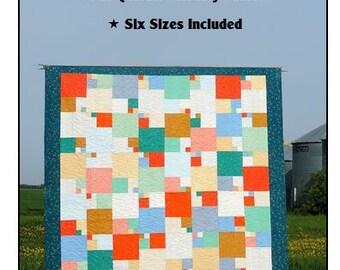 Quarter Sections - Paper Quilt Pattern