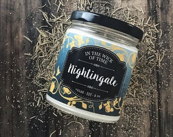 Nightingale | The Nightingale Scented Vegan Soy Candle |