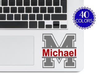 Decal Laptop Sticker, Custom Laptop Stickers Name, Computer Decal Stickers, Computer Decal Laptop Sticker, Custom Computer Decal LPLN5