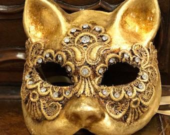 Macrame ' Cat Mask