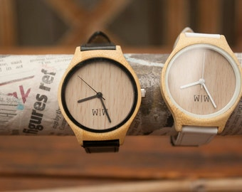 The Willows Watch - Black Leather