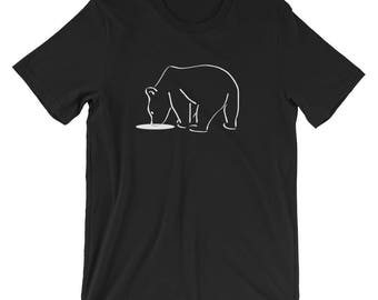 Polar Bear Dive T-Shirt Animal Lover Tee