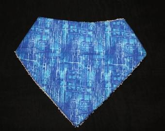 Blue 6-12 Month Bandana Bib