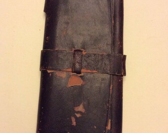 Leather wallet, Christmas 1898