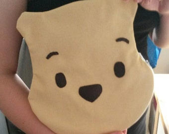 made-to-order Pooh the bear clutch