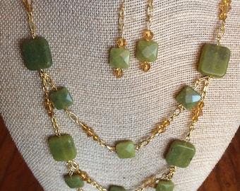 Jade and Gold Set