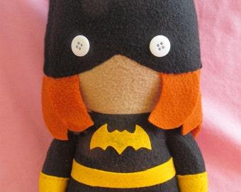 Batgirl Barbara Gordon DC Fleece Plush Doll