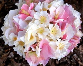 Cherry Blossom Brides bouquet