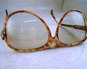 SALE Vintage 80's Eye Glasses Opas Made in France