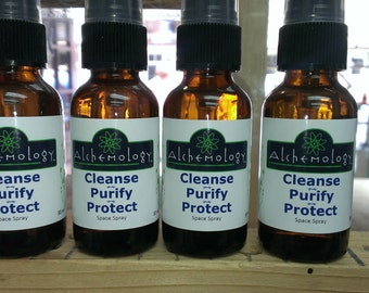 Cleanse, Purify, Protect Space Spray - 1oz