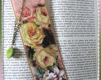 """Laminated bookmarks """"Tender bouquet"""""""