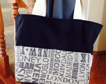 Cities Book Bag / tote