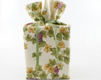Tissue Box Holder Kleenex Box Cover  Ivy Leaves Tissue Box Cover Fabric Kleenex Box Holder Bathroom  Accessories Bathroom Decoration