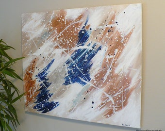 wall art for living room, original acrylic painting, abstract acrylic painting, abstract canvas art, living room decor, colorful wall art