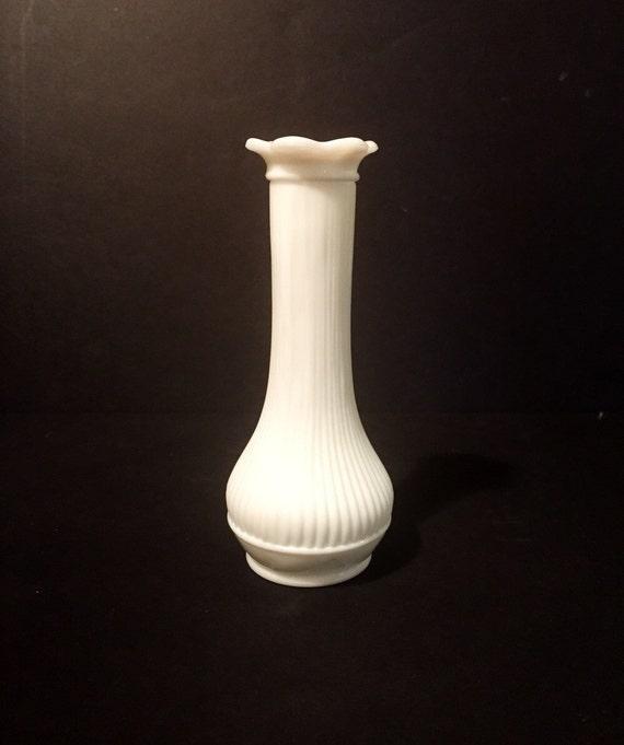 Small Vintage Decorative Randall White Milk Glass Vase