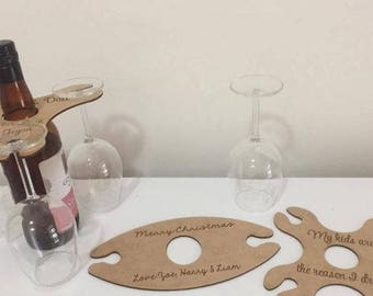 Wine Buddy 2 Glass home decor