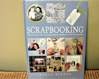 Scrapbooking How To Book Hardcover by Sarah Beaman Projects Techniques blm