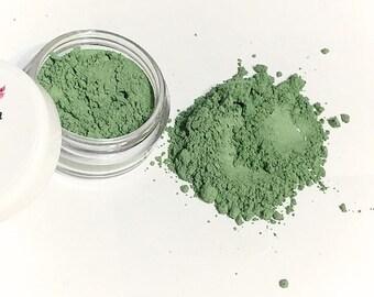 GREEN Mineral Concealer - Redness Corrector Makeup - Loose Powder