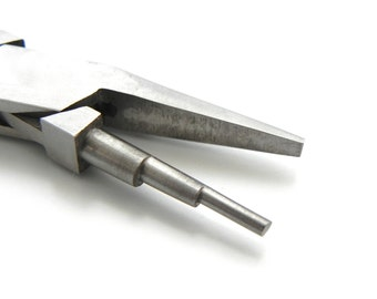 Stepped Mandrel Pliers Flat Jaw Jewelry Tools Jewelry Supply Wire Wrapping Looping
