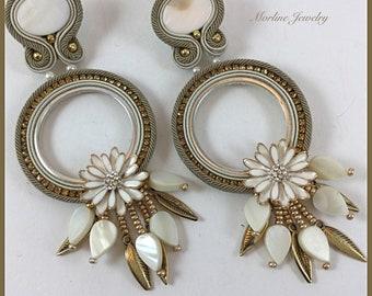 Earrings BLANCHE
