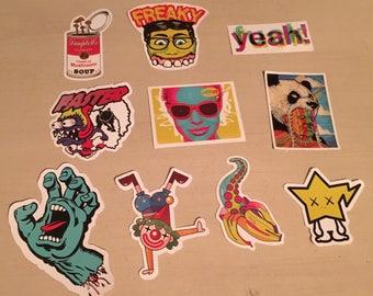 Trippy Stoner Stickers
