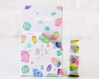 Masking tape multicolor Crystal