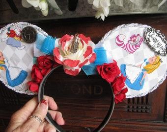 Alice in Wonderland- Disney Ears