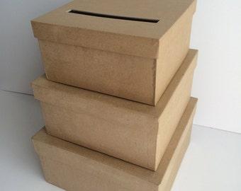 Wedding baskets boxes etsy diy wedding card box wedding card holder gift card holder solutioingenieria Images
