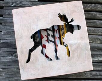Moose Stick Shadow Box Small