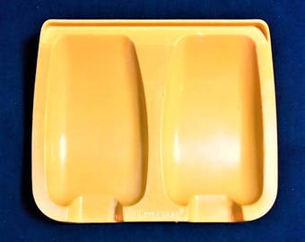 Tupperware Yellow Gold Spoon Rest