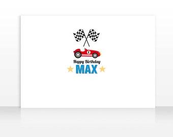 DIGITAL FILE Race Car Birthday, Race Car Banner Backdrop, Car Birthday Backdrop, Large Scale Backdrop Printable