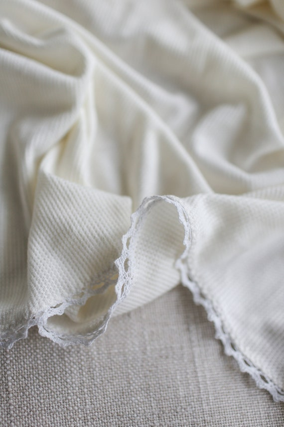 White Thermal Knit