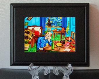 Art Print, Framed Print, van Gogh Print, Vincent van Gogh, van Gogh Art Print, Fine Art Print, Small Gift
