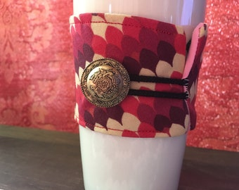 The Red Dragon Coffee Cozy
