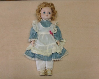 Vintage Porcelain Doll from China (1960's)