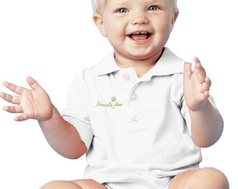 Baby Polo Bodysuits - Formula Free - Breastfeeding