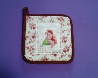 Embroidered Pot Holders