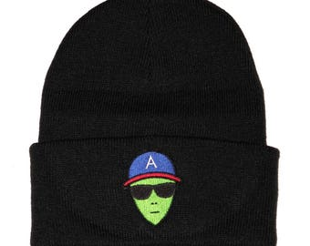 ATLien skullcap beanie hat outkast hip hop