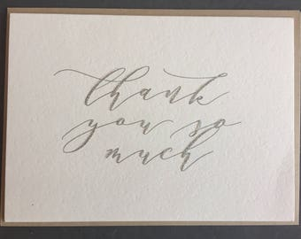 Thank You So Much (Greeting Card)
