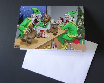 Zombie Christmas Elves