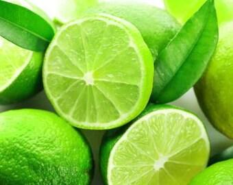 Key Lime Seeds, Citrus aurantifolia, Fresh Organic Heirloom Seeds