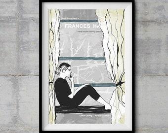 Frances Ha Alternative Movie Poster - Original Illustration
