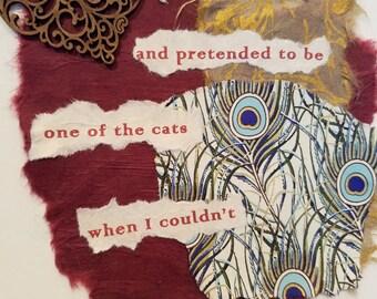 Poetry Art Card #6