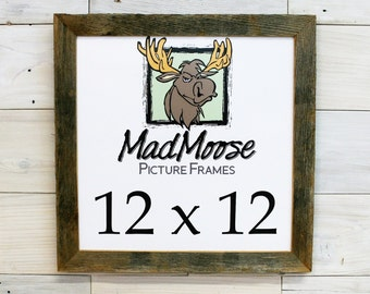 "12x12 BarnWood [Chunky x 1.25""]  Picture Frame"