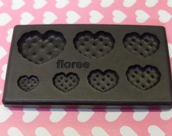 1 x Floree moule en forme de cœur Biscuit gâteau déco
