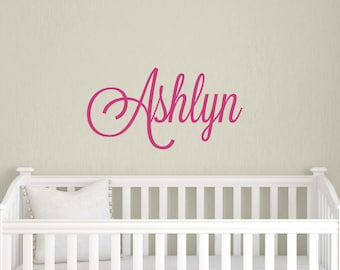 Childrens Wall Decals - Personalized Decal - Girl Name Decal - Name Decal for Nursery